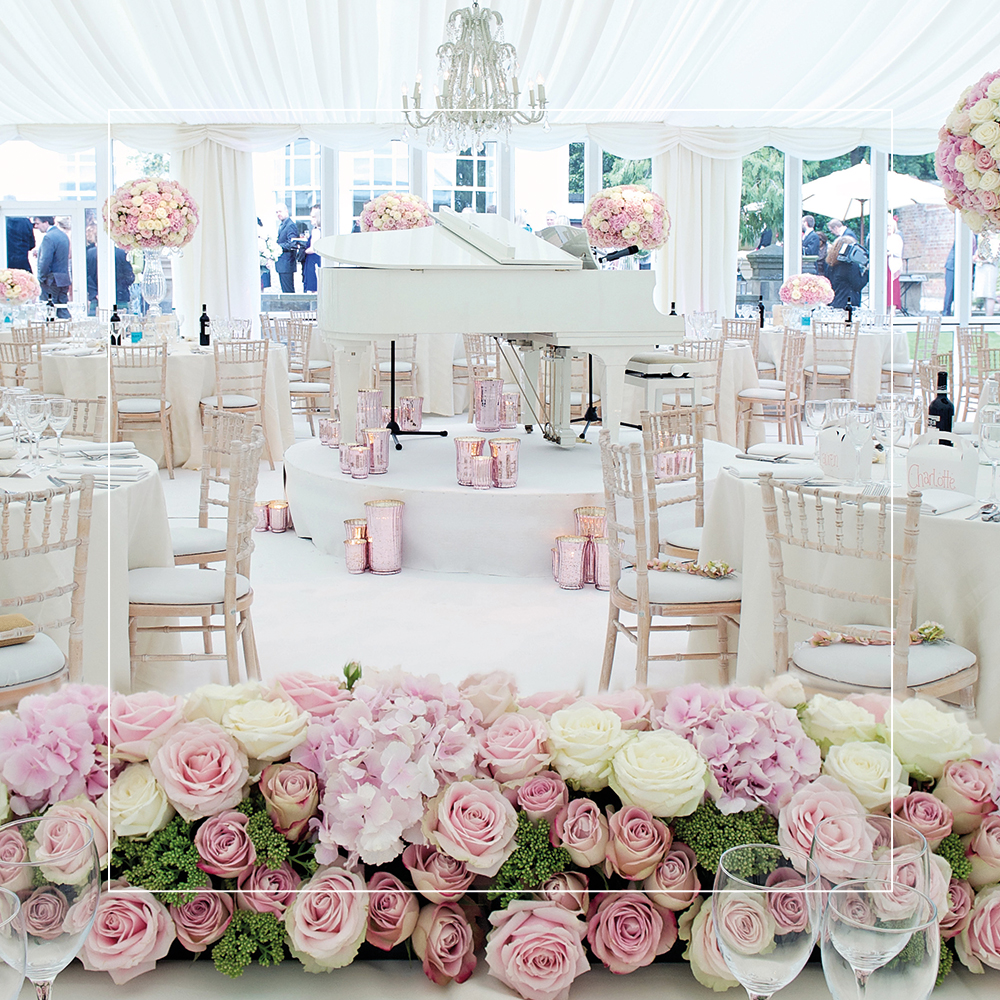 The Angels Events | Marquee Wedding